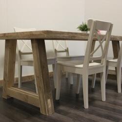 Steigerhouten tafel Orlando