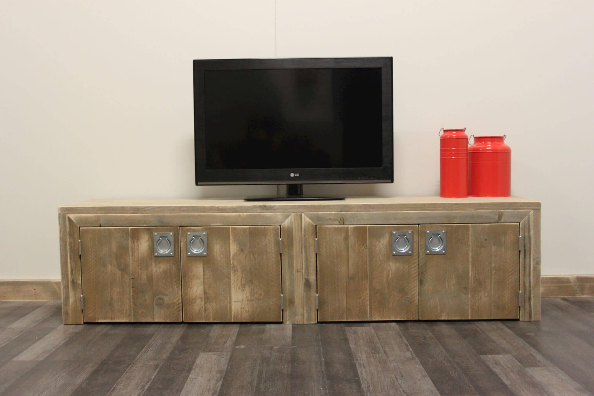 Steigerhouten tv meubel foresta steigerhouttrend for Aanbieding meubels
