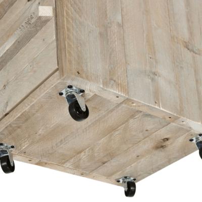 Steigerhouten bureau spencer steigerhouttrend for Ladeblok landelijk