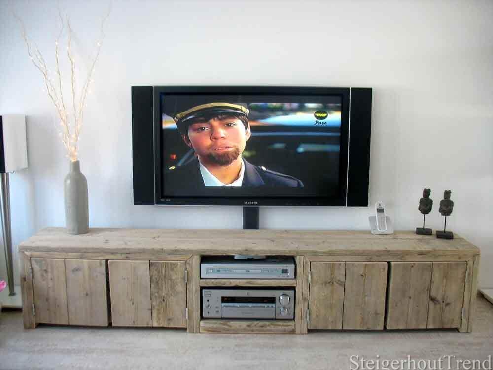 Slaapkamer Kast : steigerhout slaapkamer kast : Steigerhouten TV ...