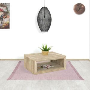 Steigerhouten salontafel Aspen