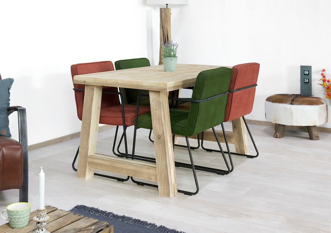 Tafel steigerhout deluxe woodandrestyle