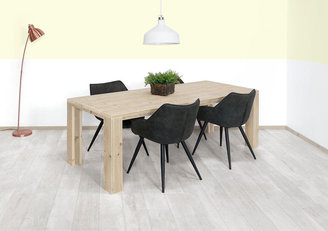 Steigerhouten tafel Washington