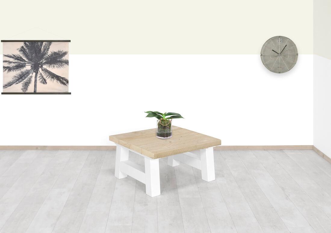 Steigerhouten salontafel Ogden