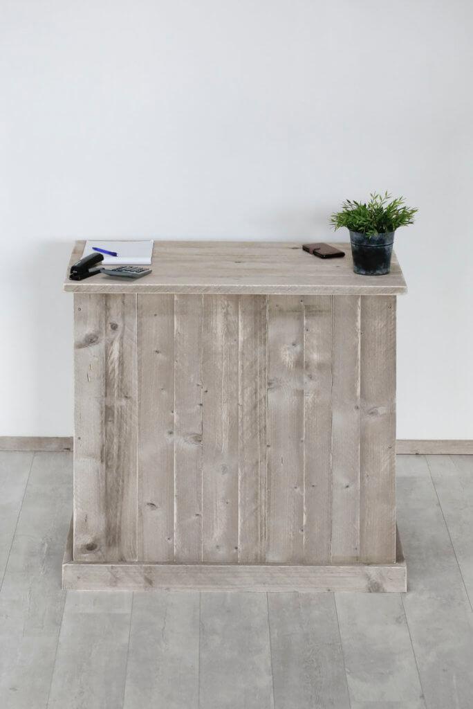 Steigerhouten toonbank dayton steigerhouttrend for Klein keukenblok