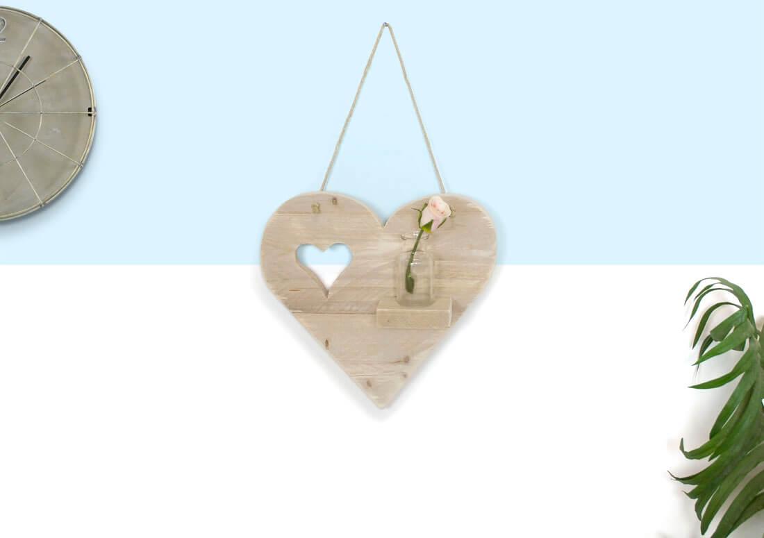 Steigerhouten hartje Love