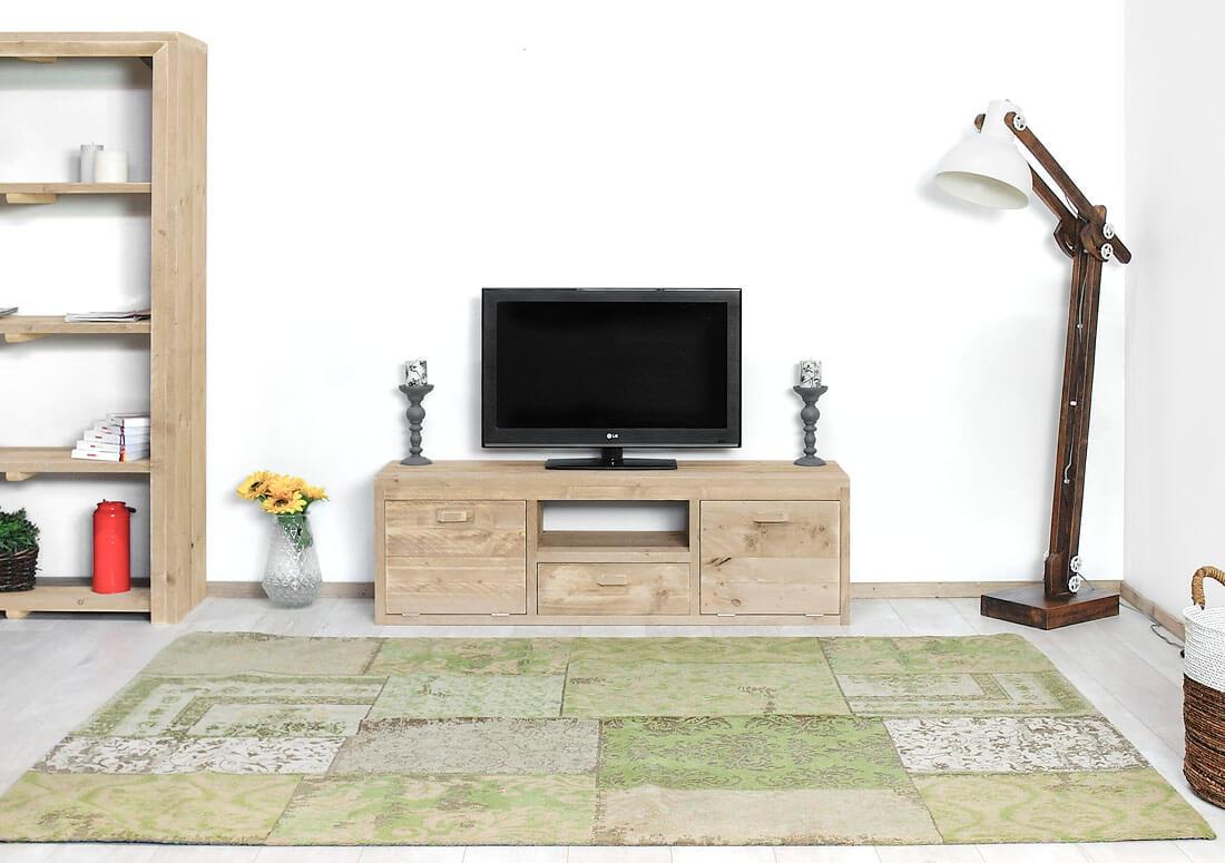 Steigerhouten TV meubel Colfax