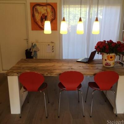 Steigerhouten tafel Tula