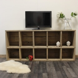 Steigerhouten tv meubel Madison