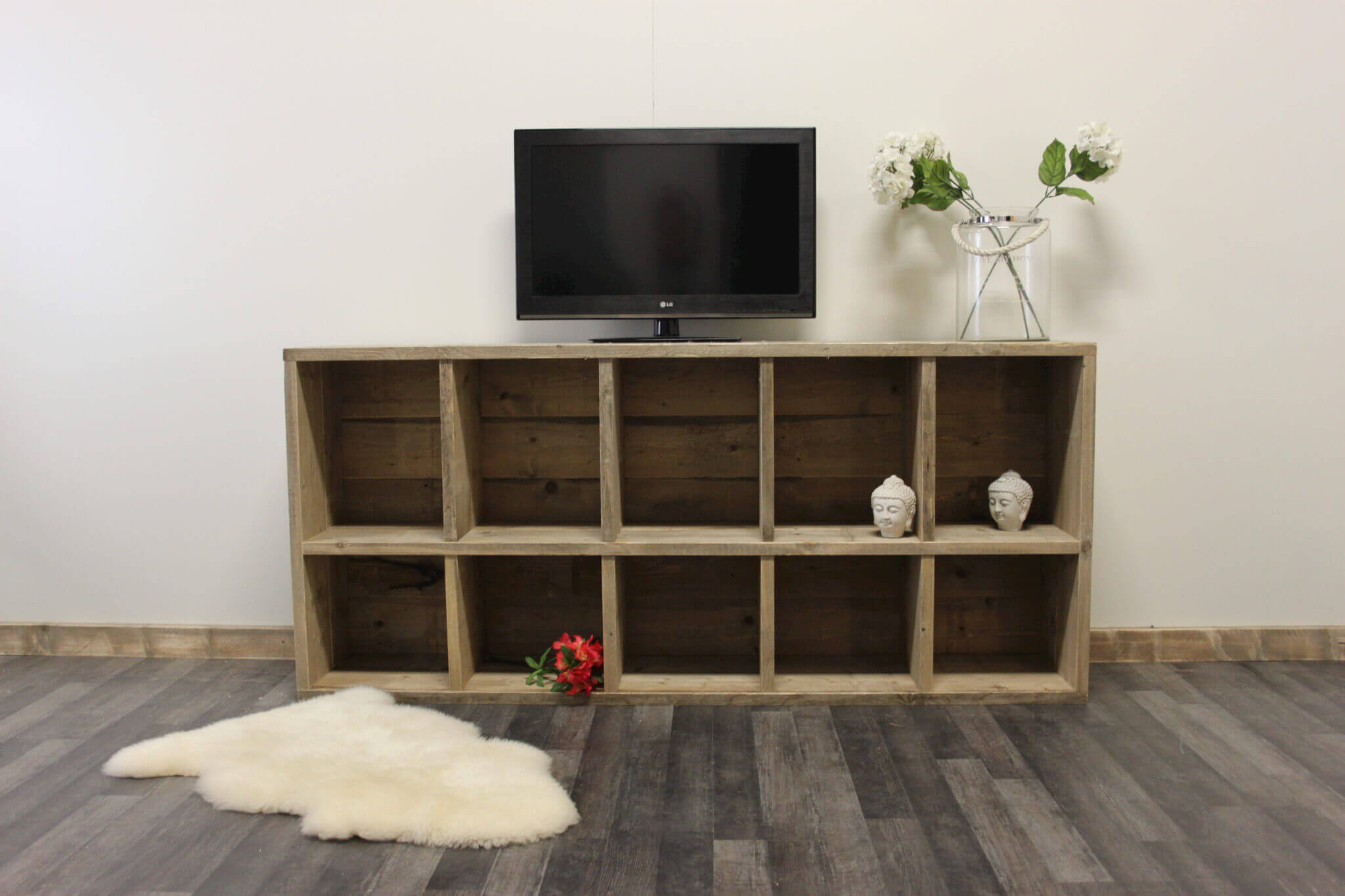 Steigerhouten TV meubel Madison – SteigerhoutTrend