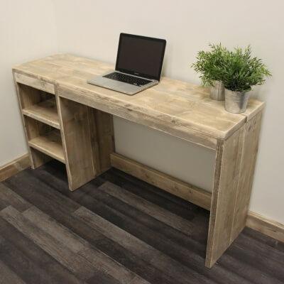 Woonkamer Met Bureau: Amerikaanse land retro houten console tafel ...