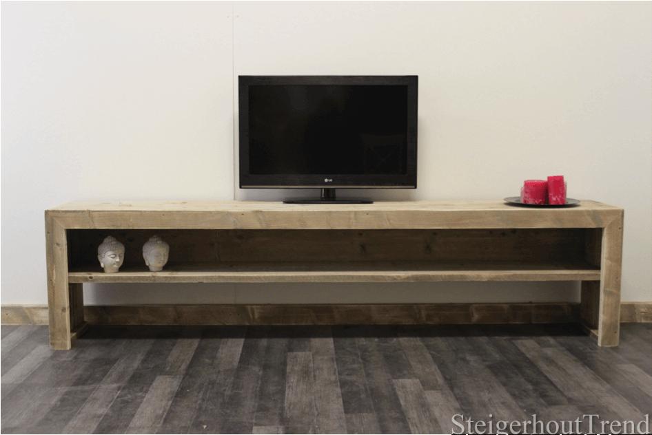 Steigerhouten tv meubel mio steigerhouttrend for Tv meubel steigerhout