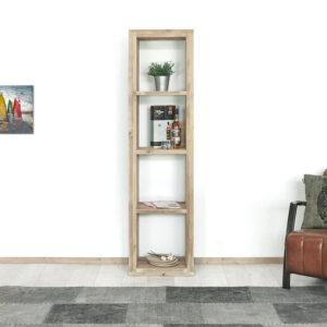 Steigerhouten boekenkast Algona