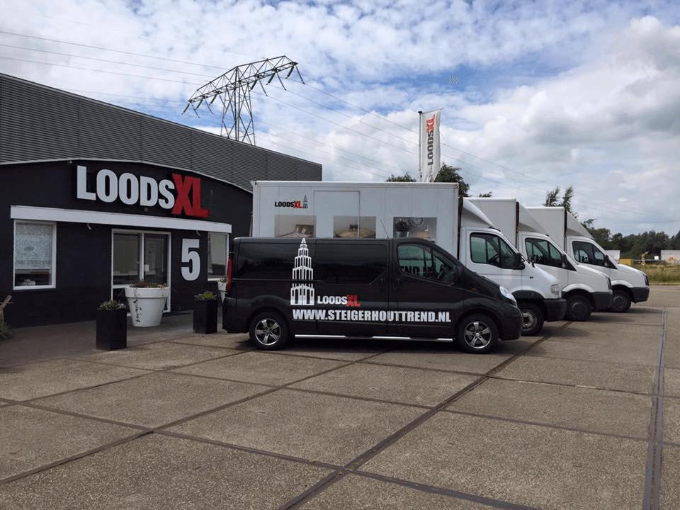 Bezorging Steigerhouttrend Loodsxl