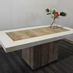 Steigerhouten tafel Fargo