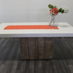 Steigerhouten tafel Flint