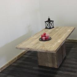 Steigerhouten tafel Chadron