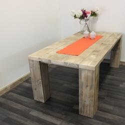 Steigerhouten tafel Maryland
