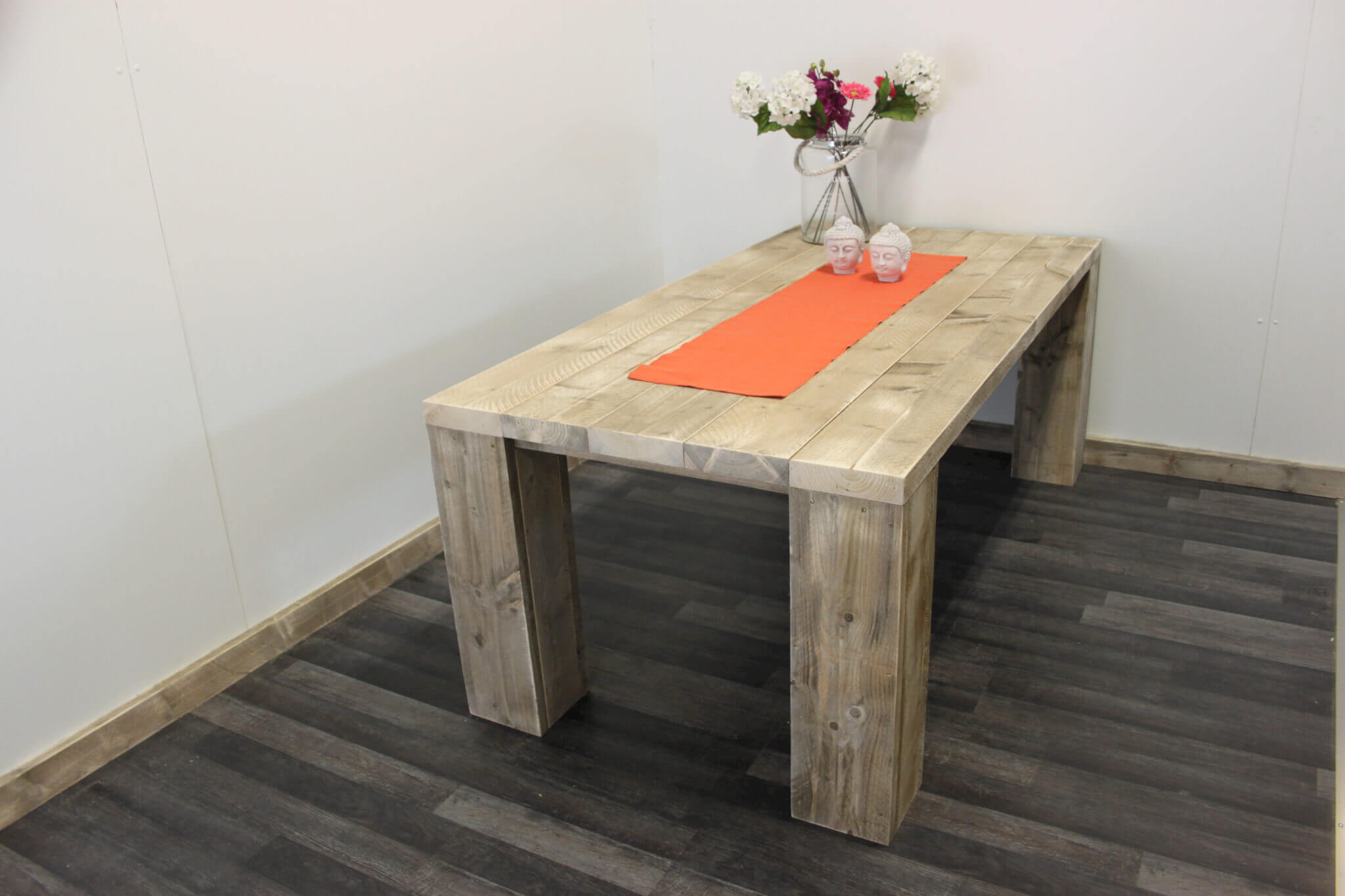 Steigerhouten tafel Flint – SteigerhoutTrend