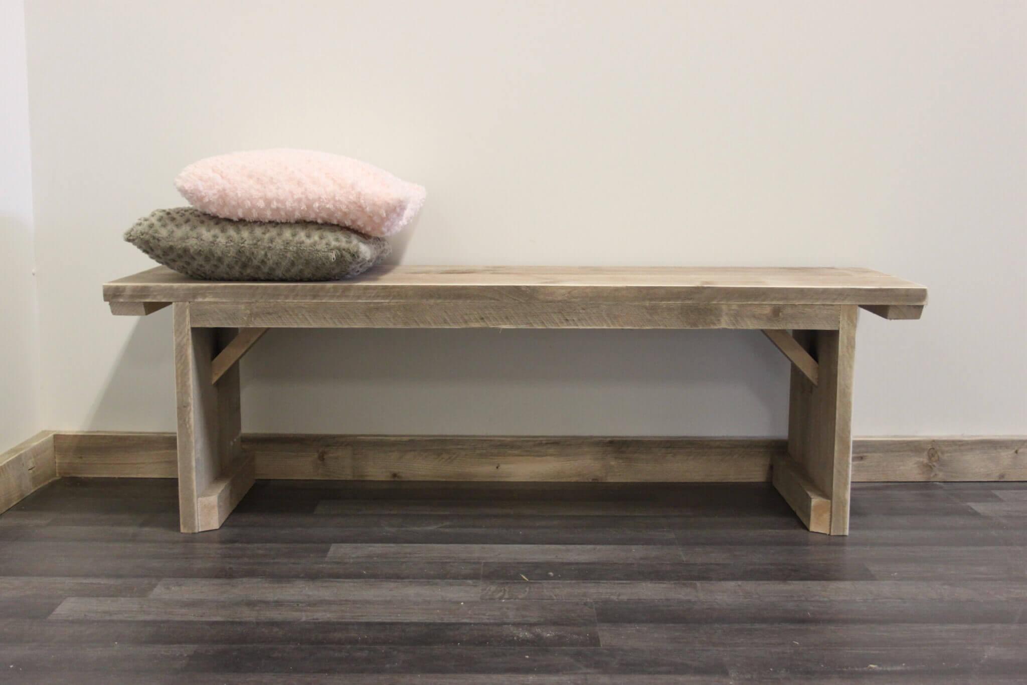 Bankje Slaapkamer : houten bankje slaapkamer : Steigerhouten bankje ...