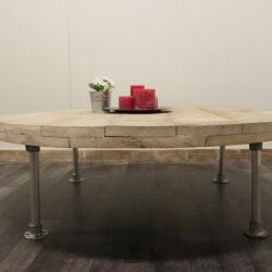 Steigerhouten salontafel Sandy