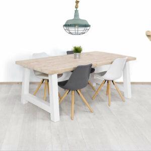 Steigerhouten tafel Muray