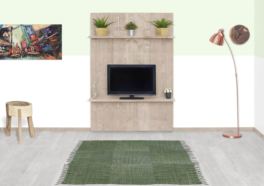 Steigerhouten TV meubel Marion