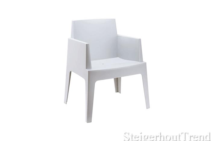 Witte Kunststof Design Stoelen.Box Stoel Wit 20 Bestel Nu