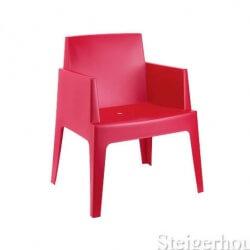 box-stoel-rood