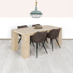 Steigerhouten tafel Columbus