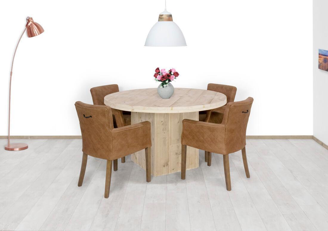 Steigerhouten tafel Crane