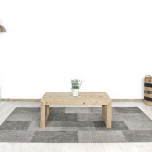 Steigerhouten salontafel Vinita