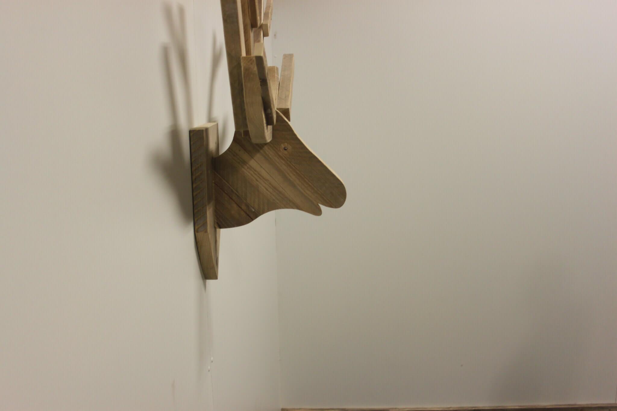 Steigerhouten muur slaapkamer ~ [Spscents.com]