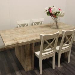 Steigerhouten tafel Walker