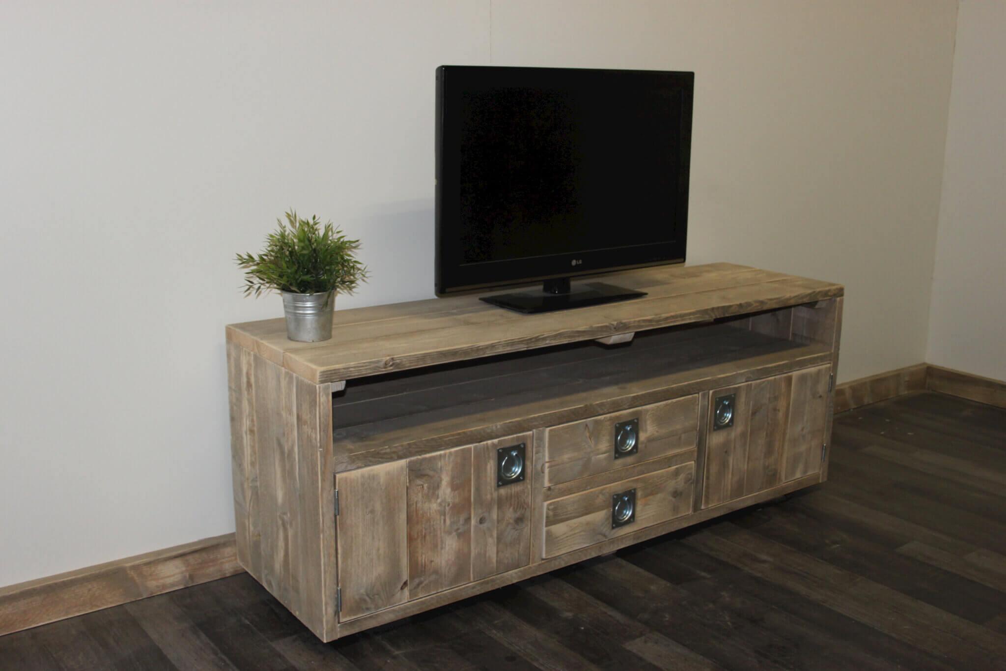 Steigerhouten TV meubel Ocala – SteigerhoutTrend