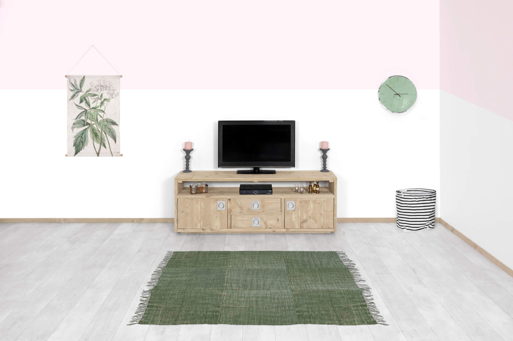 Steigerhouten TV meubel Ocala