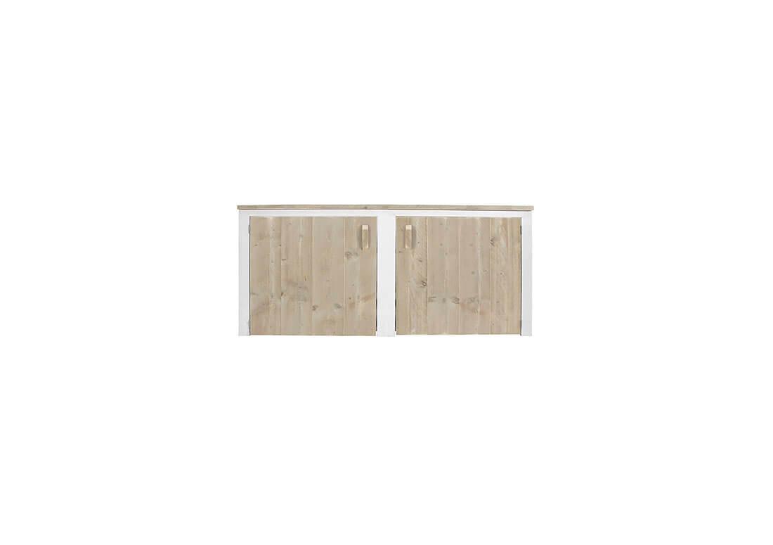 Steigerhouten dressoir kast tepic met deuren