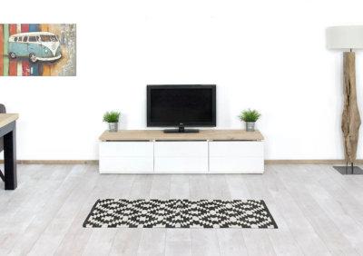Steigerhouten TV meubel Willmar
