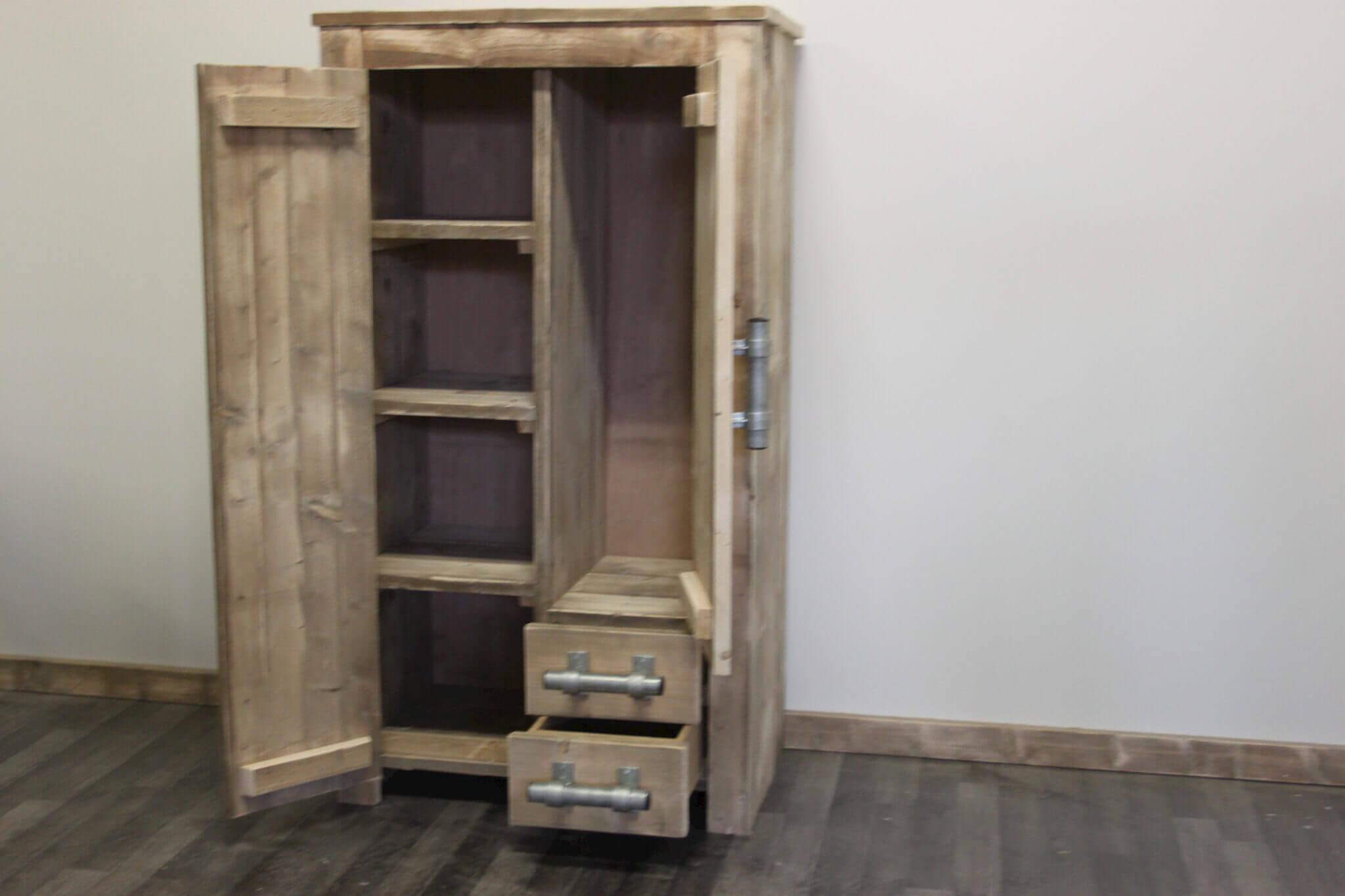 Steigerhout slaapkamer kast ~ [spscents.com]