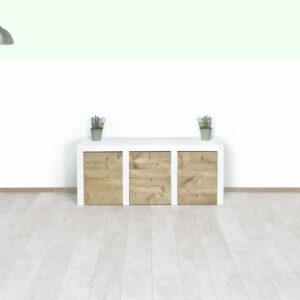 Steigerhouten sidetable Clovis