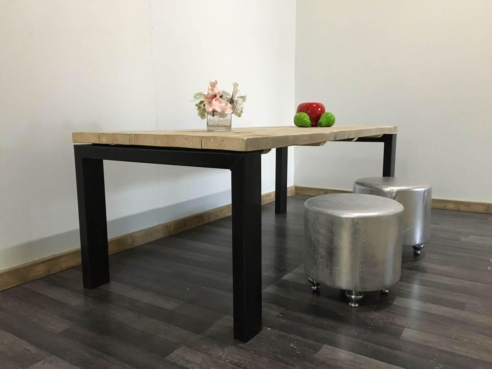Steigerhouten tafel Lufkin