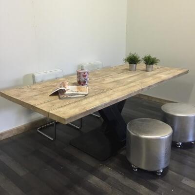 Steigerhouten tafel Jal