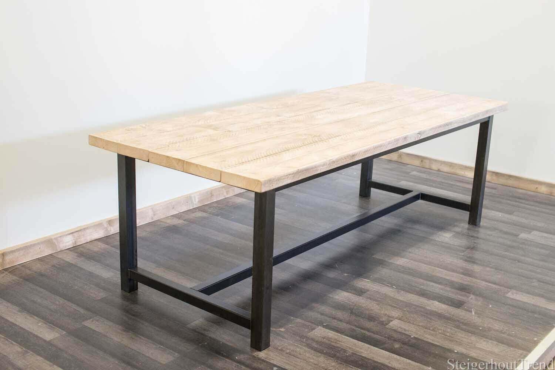 Steigerhouten tafel norman steigerhouttrend for Tafelblad steigerhout maken