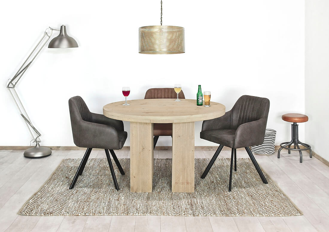 Steigerhouten tafel Maastricht