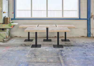 Steigerhouten tafel Jackson