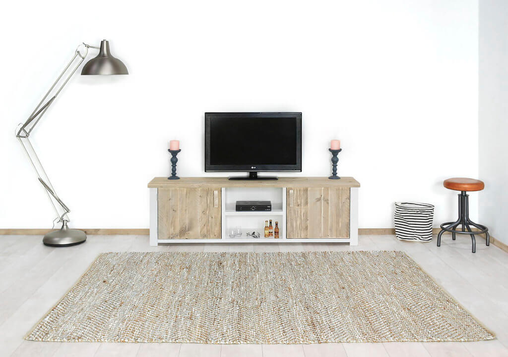 Steigerhouten TV meubel Cheney