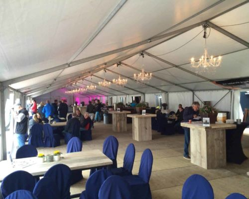 steigerhouten statafels, picknicks tafels voor evenementen
