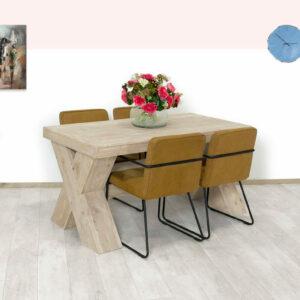 Steigerhouten tafel Kinsey