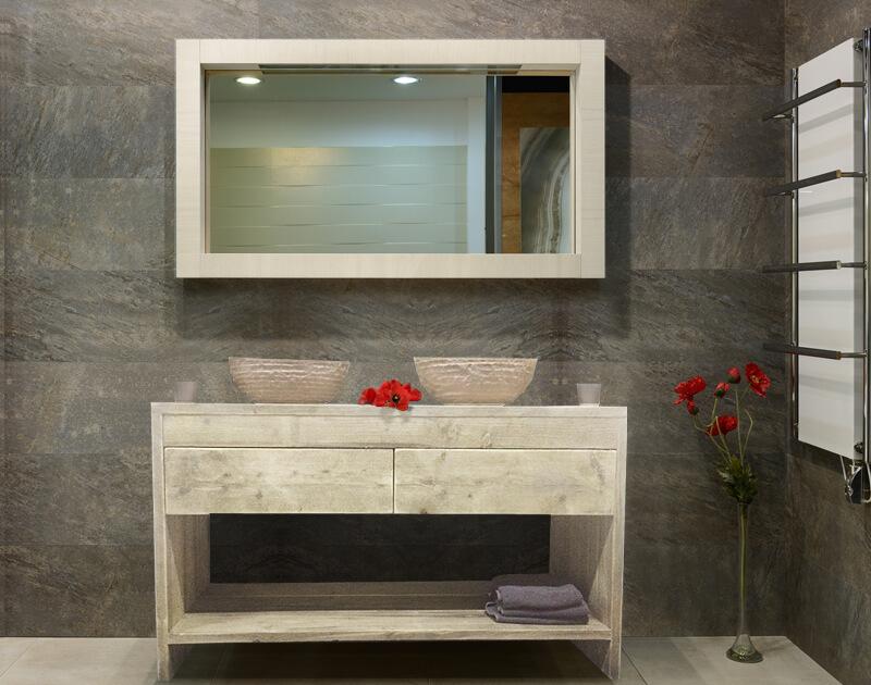 Steigerhouten badkamer meubel fallon u2013 steigerhouttrend