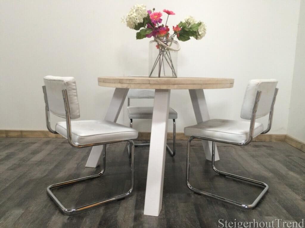 Steigerhouten tafel Baker – SteigerhoutTrend